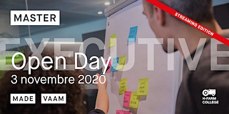 Open Day Online Master Executive