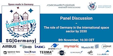 SG[Germany] webinar series - Panel 1 tickets