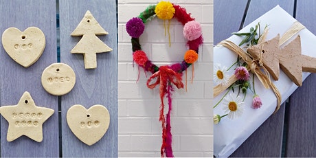 Make Your Own Christmas Wreath and Ornaments tickets