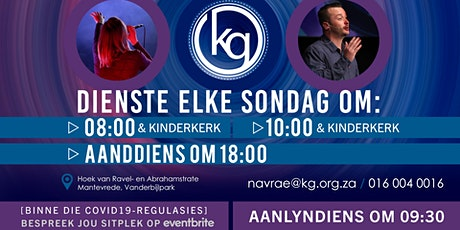 Kompas Gemeente - 08:00 - Erediens - 1 November 2020 tickets