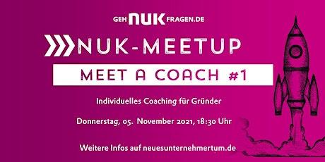 Meet a coach #1 | NUK-Meetup Tickets