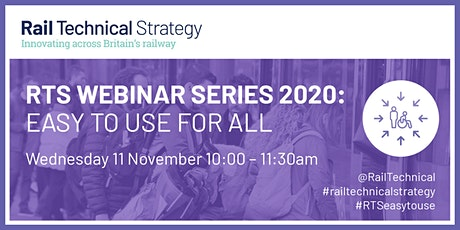 RTS Webinar Series  2020| Easy to use for all tickets
