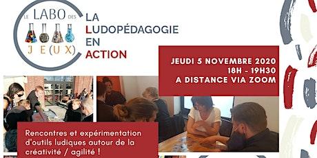 Ludopédagogie en action - à distance - Thématique : La créativité billets