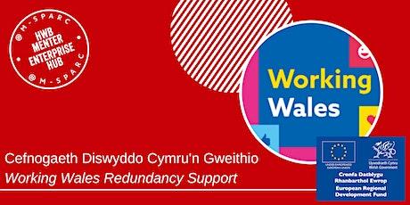 Cefnogaeth Diswyddo Cymru'n Gweithio / Working Wales Redundancy Support tickets