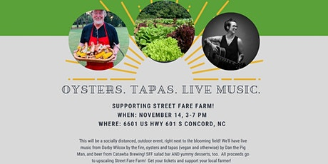 Socially Distanced Farm to Table Tapas, Oysters, and Beer! tickets