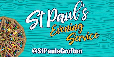 Evening Service - 1st November PM tickets
