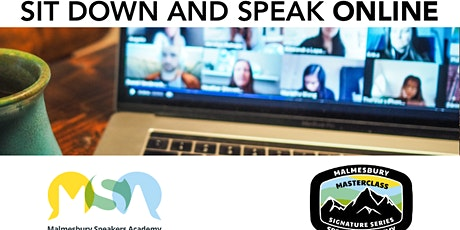 Sit Down and Speak - Online Edition (Master Online Speaking and Presenting) tickets