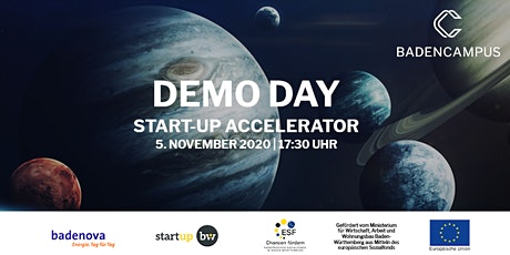 DemoDay BadenCampus Start-up Accelerator 2020 Tickets