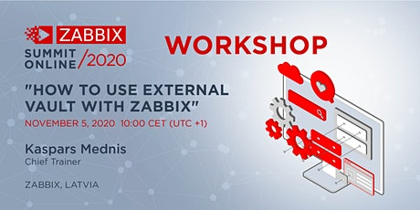 Workshop: How to use external Vault with Zabbix tickets