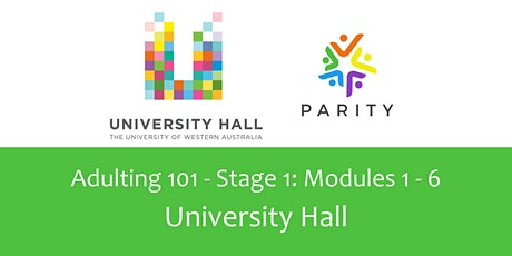 Adulting 101 - Stage 1: the money stuff, University Hall tickets