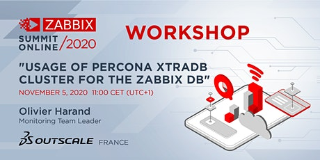 Workshop: Usage of Percona XTRADB Cluster for the Zabbix DB tickets