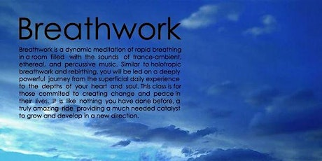Breathe into Freedom. A 'Conscious Breath' Workshop billets