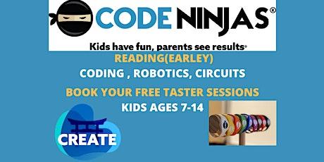 CODE NINJAS READING - FREE TASTER SESSIONS tickets