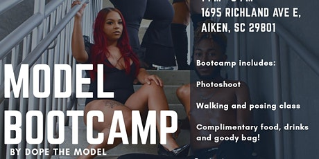 Model Boot Camp tickets
