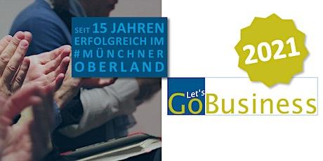 GO Business Nr. 173: Wissens-, Führungs- und Onlineaustausch. Tickets