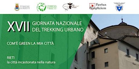 XVII giornata Nazionale del Trekking Urbano biglietti