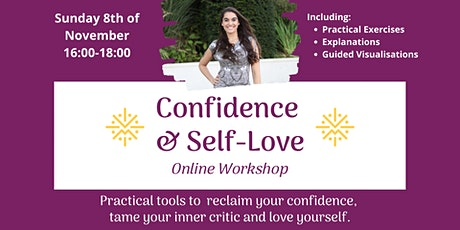 Confidence & Self-Love tickets