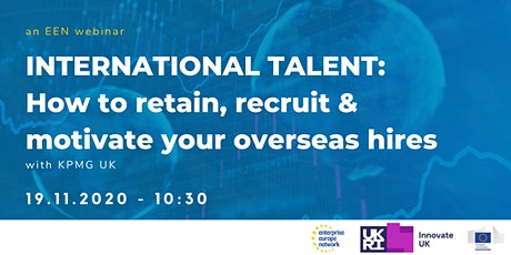 How to Retain, Recruit & Motivate Your Overseas Hires tickets