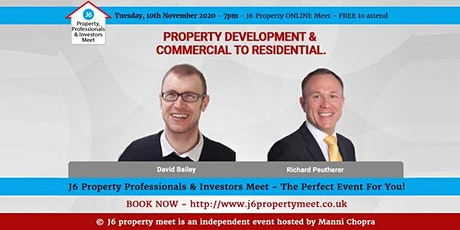 J6 property Online Meet -10th November, 2020 tickets