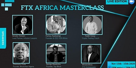 FTX AFRICA MASTERCLASS tickets
