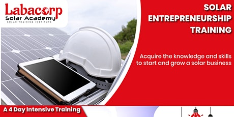 Solar Entrepreneurship Training: December 2020 billets