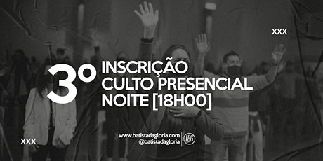 3a. CELEBRAÇÃO NOITE - 01/11 ingressos