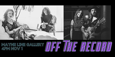 OFF THE RECORD Kristin Berardi + Helen Svoboda | Day of Embers tickets