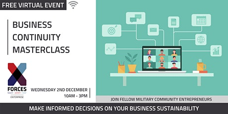 Business Continuity Virtual Masterclass tickets