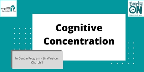 Copy of IN CENTRE PROGRAM - Cognitive Concentration (18 months to 6 years) tickets
