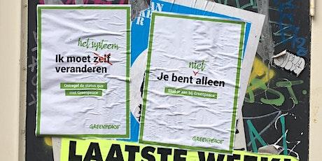 Posters Plakken in de eigen omgeving