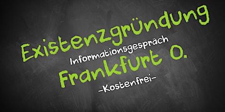 Existenzgründung Online kostenfrei - Infos - AVGS  Frankfurt O. Tickets