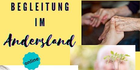 """Info-Veranstaltung zur kostenlosen Kursreihe """"Begleitung im Andersland"""" Tickets"""