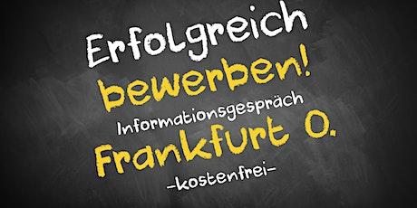 Bewerbungscoaching Online kostenfrei - Infos - AVGS Frankfurt O. Tickets