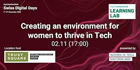 Women in Tech Switzerland Workshop