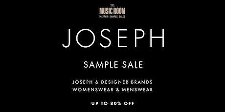 Joseph Sample Sale tickets