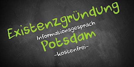 Existenzgründung Online kostenfrei - Infos - AVGS Potsdam Tickets