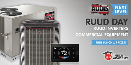 Ruud Next Level: Ruud Inverters & Commercial Equipment tickets