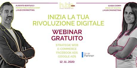 Hubic day Webinar - Evento gratuito | Inizia la tua rivoluzione digitale biglietti