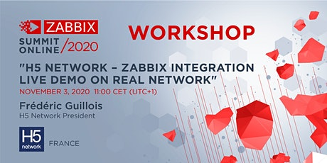 Workshop: H5 Network – Zabbix integration live demo on the real network tickets