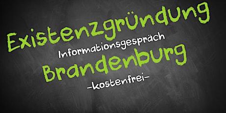 Existenzgründung Online kostenfrei - Infos - AVGS Brandenburg tickets