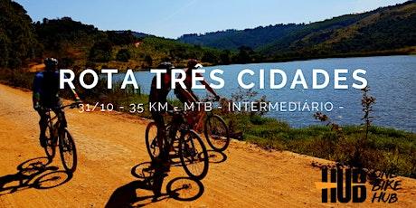 Rota Três Cidades - MTB - 35 km - Intermediário ingressos