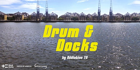Drum & Docks - online session with artists Addictive TV tickets
