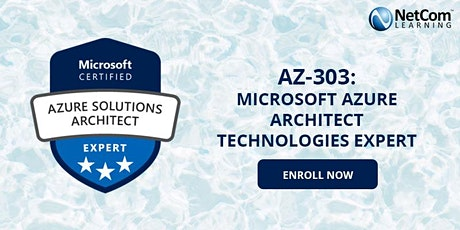 Microsoft Azure Architect Technologies Expert 5-Day Training - Online entradas