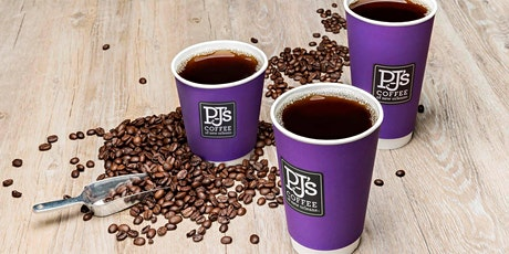 Free 12 oz Coffee at PJ's Coffee Bowie Grand Opening tickets