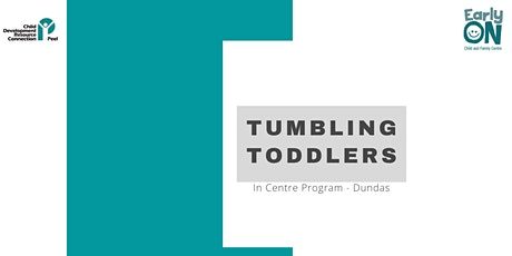 Copy of IN CENTRE PROGRAM - Tumbling Toddlers (12 months to 3 years) tickets