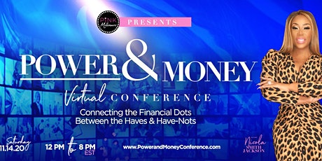 Power & Money Virtual Conference tickets