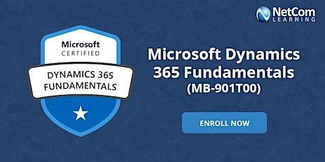 Microsoft Dynamics 365 Fundamentals 2-Days Training in New York at $599 tickets