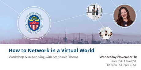 SACC: How to Network in a Virtual World – Workshop & networking tickets