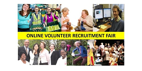 ONLINE VOLUNTEER RECRUITMENT FAIR tickets