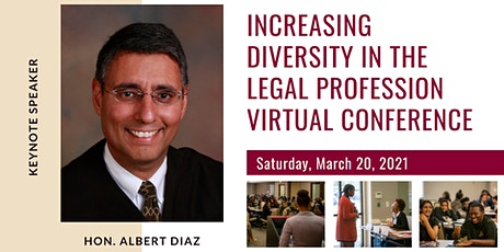 Increasing Diversity in the Legal Profession Virtual Conference tickets